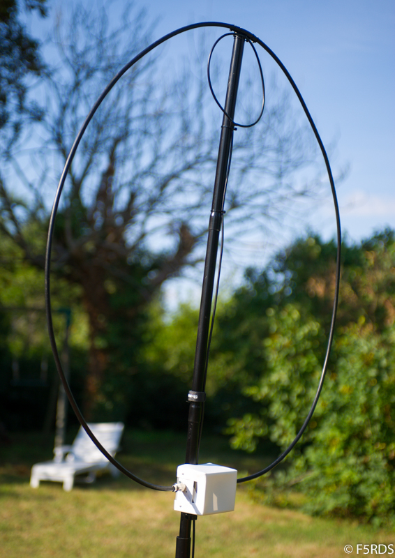 """Home made portable HF magnetic loop like """"Alex loop"""" – F5RDS home page"""