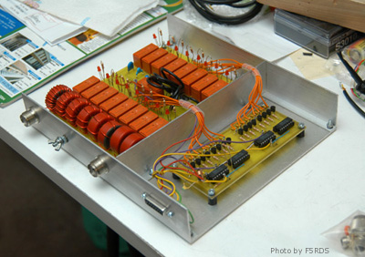 F5RDS remote antenna tuner